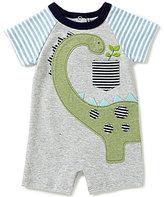 Mud Pie Baby Boys Newborn-12 Months Dinosaur Raglan Shortall