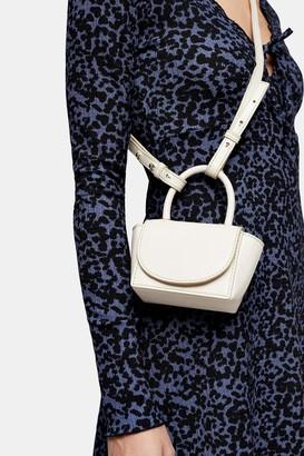 Topshop Womens Ken White Cross Body Bag - White