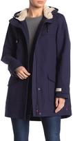 Joules Coast Faux Fur Lined Rain Coat