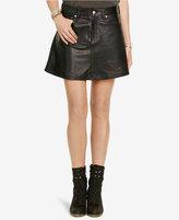 Denim & Supply Ralph Lauren Leather Miniskirt