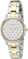 Stuhrling Original Audrey Women's Quartz Watch with Silver Dial Analogue Display and Multicolour Stainless Steel Bracelet 783.02