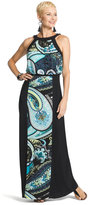 Chico's Groovy Paisley Maxi Dress