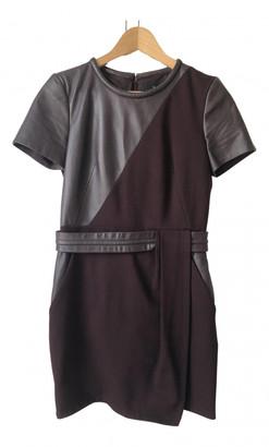 The Kooples Burgundy Leather Dresses