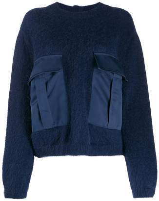Semi-Couture Semicouture oversized-pockets sweater