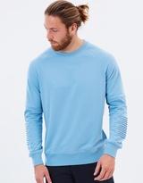 Glacier Zip Panel Sweater