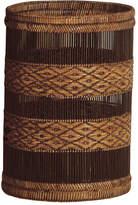 OKA Rattan Mandalay Waste Paper Basket