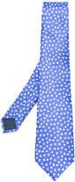 Lanvin petal print tie