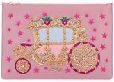 Dolce & Gabbana carriage patch clutch