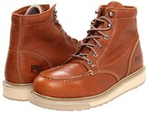Timberland Barstow Wedge Soft Toe (Rust) Men's Work Boots