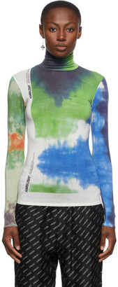 Ambush Multicolor Tie-Dye Turtleneck