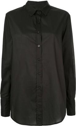 Matteau Curved Hem Shirt