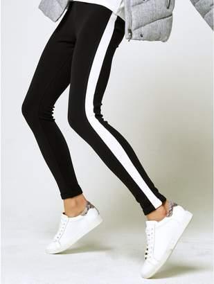 M&Co Side stripe leggings