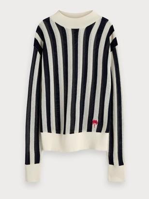 Maison Scotch Striped Pullover - XS / 17 - Combo A