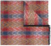 Missoni zig zag jacquard scarf - unisex - Silk/Wool - One Size