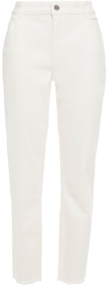 Claudie Pierlot Mid-rise Slim-leg Jeans