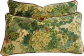 One Kings Lane Vintage Pillows in Scalamandré Velvet Marly, Pr