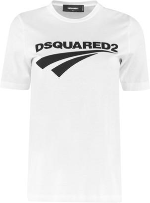 DSQUARED2 Cotton Crew-neck T-shirt