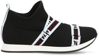 Fendi Neoprene Slip-on Sneakers