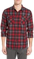 Gramicci Men's Burner Regular Fit Plaid Flannel Shirt