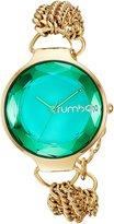 RumbaTime Women's 02960 Orchard Chain Analog Display Japanese Quartz Gold Watch