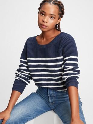 Gap Textured Crewneck Sweater