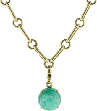 Gemfields X Muse Emerald Pendant