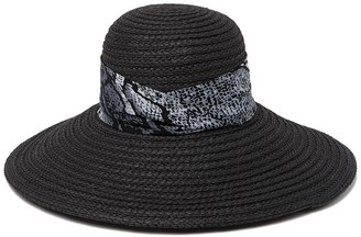 BCBGMAXAZRIA Downbrim Floppy Hat