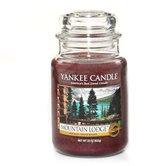 Yankee Candle Company Mountain Lodge Large Jar Candle