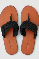 American Eagle Outfitters AE Macrame Flip Flop
