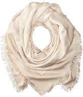 Tory Burch Traveler Oversized Square Scarf Scarves