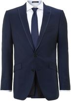 Simon Carter Tonic Twill Slim Fit Peak Lapel Suit
