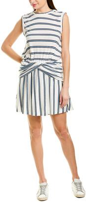 Derek Lam 10 Crosby Linen-Blend Tank Dress