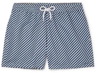 Frescobol Carioca Pepe Slim-Fit Short-Length Printed Swim Shorts
