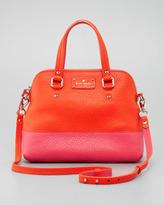 Kate Spade Grove Court Maise Satchel Bag, Orange/Pink