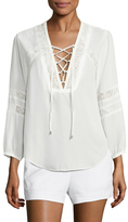 Dolce Vita Ellis Lace Paneled Blouse