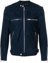 Paul Smith zipped biker jacket