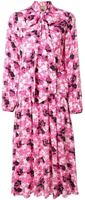 No.21 Floral Scarf Detail Dress