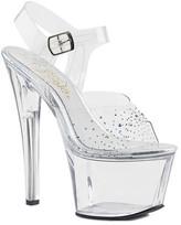 Pleaser USA Women's Sky 308SD Ankle-Strap Sandal