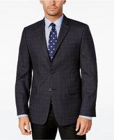 Lauren Ralph Lauren Men's Slim-Fit Dark Gray Check Sport Coat