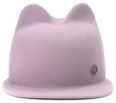 Maison Michel Jamie rabbit-felt hat