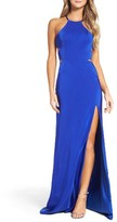 La Femme Women's Satin Gown