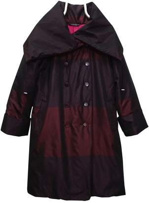 Marimekko Burgundy Coat for Women