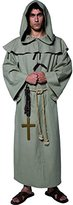 Smiffys Smiffy's Men's Tales Of Old England Friar Tuck with Robe Hood Belt and Cross