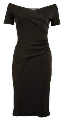 Dorothy Perkins Womens *Feverfish Black Off Shoulder Dress, Black