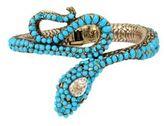 Betsey Johnson Mystic Baroque Queens Snake Hinge Cuff