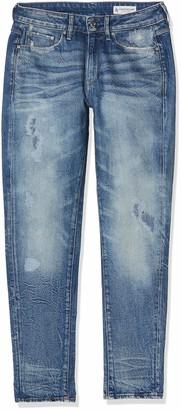 G Star Women's 3301 Mid Waist Boyfriend Fit Jeans