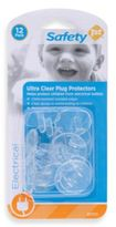 Safety 1st Clear 12-Pack Outlet Plugs
