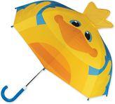 Stephen Joseph Duck Pop Up Umbrella in Yellow