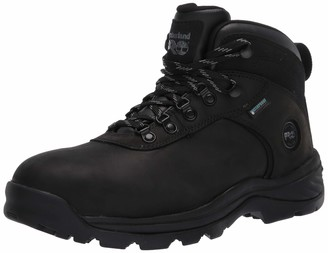 Timberland Men's Flume Mid Steel Safety Toe Wateproof Industrial Boot