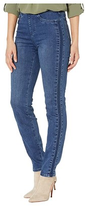 FDJ French Dressing Jeans Statement Denim Pull-On Cigarette Leg in Mid Indigo (Mid Indigo) Women's Jeans